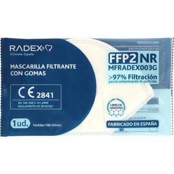 máscaras radex grafoplas branco ffp2